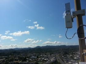 Cobertura hacia el centro de Puerto Rico